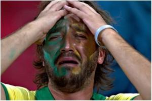 Fan llorando