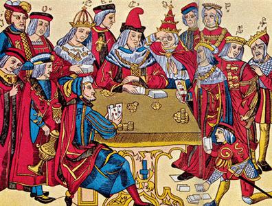 Jugando Cartas en el Renacimiento