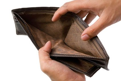 sin dinero