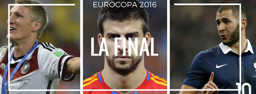 Final España alemania francia eurocopa 2016 benzema pique