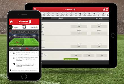 Descubre la aplicación móvil de Sportium