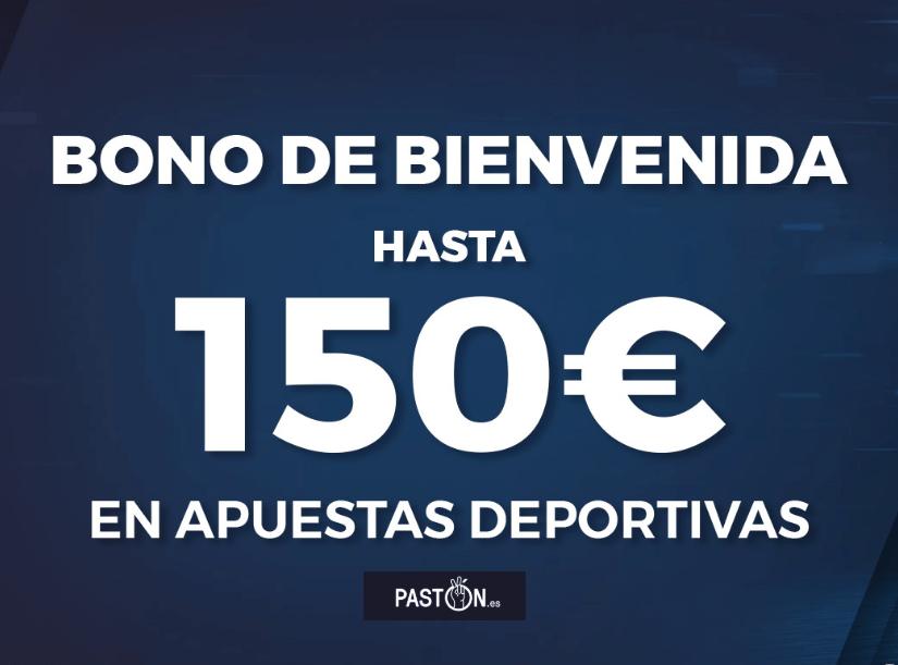 Escribe el código promocional Pastón «PASTONVIP» 2019: 150€ en apuestas deportivas