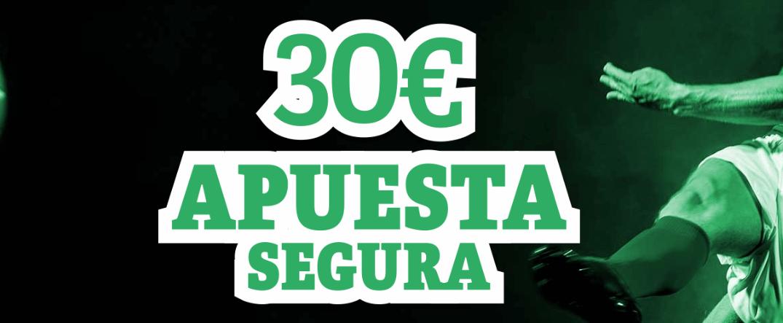 Paf 30€ apuesta segura