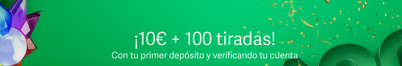 Código Bono Paf: consigue 10€ + 100 tiradas gratis