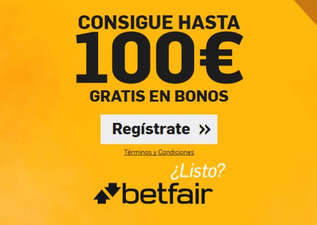 Betfair opiniones: ¡100€ en apuestas gratuitas!