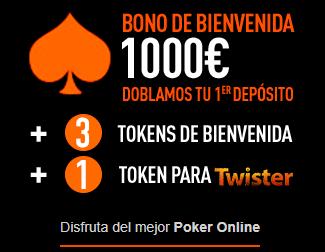 Sportium Póker Bono de Bienvenida