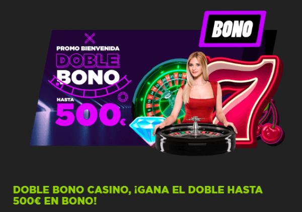 Vivelasuerte Bono de Casino