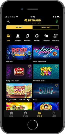 Bethard Android iOS