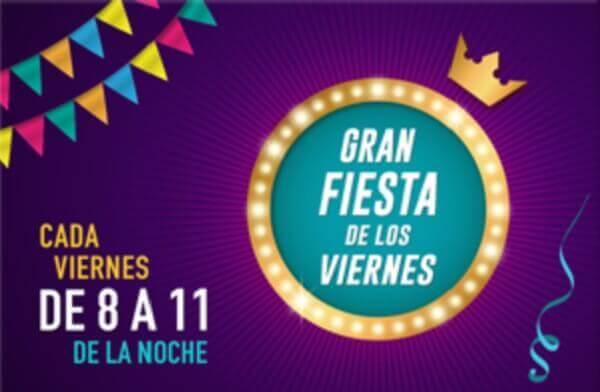 YoBingo Gran Fiesta de los Viernes