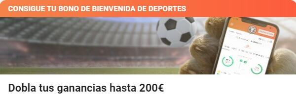 LeoVegas Bono de Bienvenida Deportes