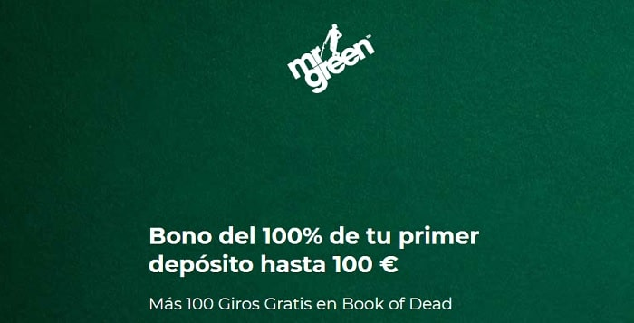 Codigo Promocional Mr Green